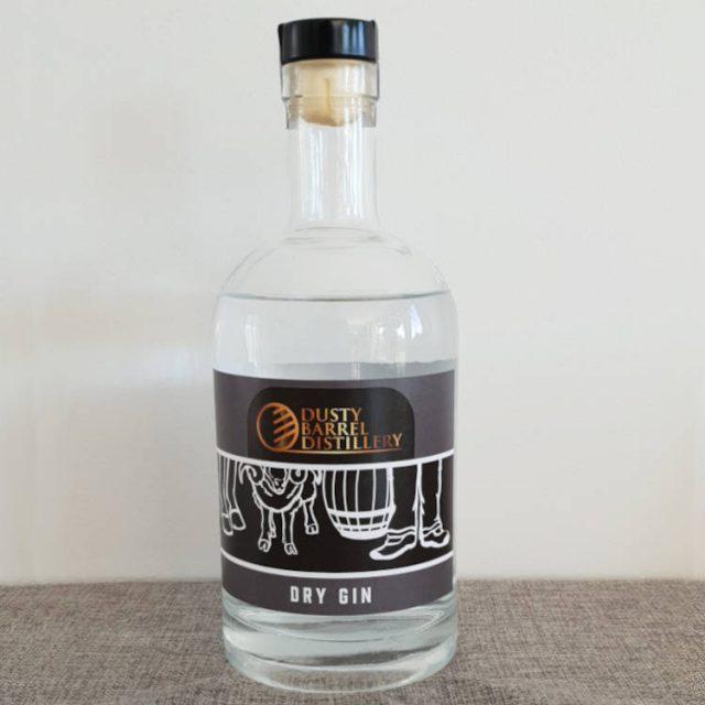 Dry Gin Dusty Barrel Distillery
